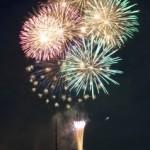 鮎祭り花火カラー